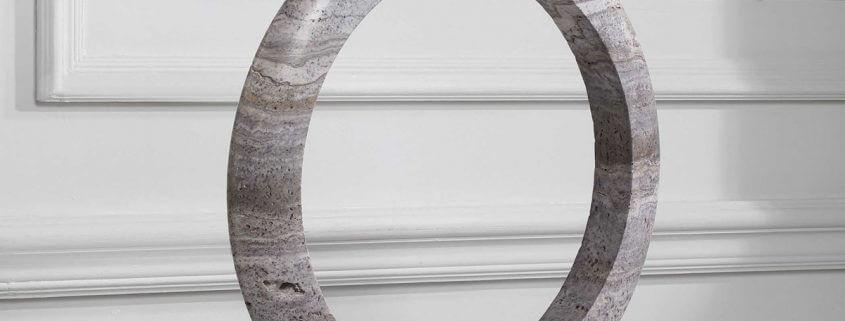 Oblique Stone Sculpture